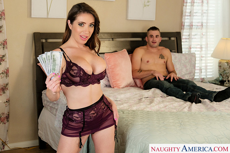 Mom's Money – Bianca Burke – Bianca Burke fucks a young cock 1