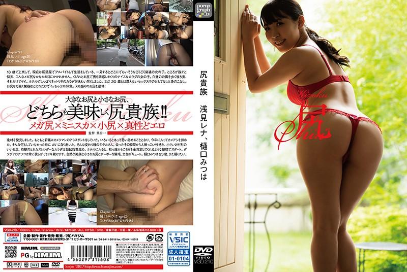VGD-210 Ass Nobleman Rena Asami, Mitsuha Higuchi 1